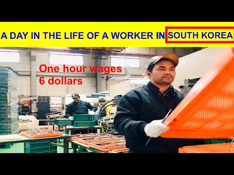 Labour Jobs in South Korea
