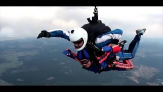 видео Открыли сезон прыжков с парашютом | Всероссийская общественная организация ветеранов