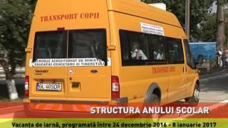 Ministerul Educației a aprobat structura anului școlar 2016 - 2017