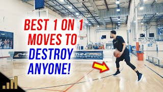 How to: BEST 1 ON 1 BASKETBALL MOVES TO BEAT ANYONE!