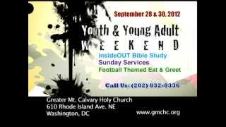 GMCHC Youth Weekend Oct 28 - Oct. 30, 2012