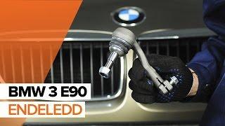 Hvordan bytte endeledd på BMW 3 E90 BRUKSANVISNING | AUTODOC