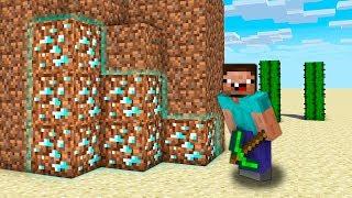 Minecraft NOOB vs PRO vs HACKER vs GOD : NOOB FOUND DIRT DIAMONDS IN SECRET DESERT | Challenge!