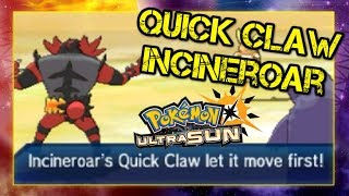 Pokemon Ultra Sun and Moon VGC 2019 Sun Series Battle - QUICK CLAW INCINEROAR
