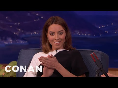 Conan Launched Aubrey Plaza's Career  - CONAN on TBS