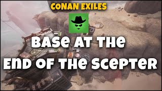 Base at the End of the Scepter | Conan Exiles