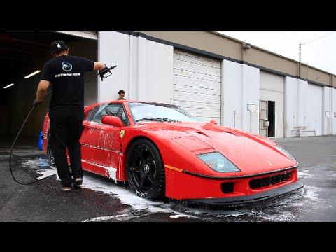 Mighty Fine Auto Detailing | Ferrari F40
