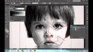 WPAP Tutorial using Illustrator   Grayscaling