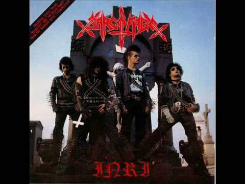 Sarcofago  The Black Vomit