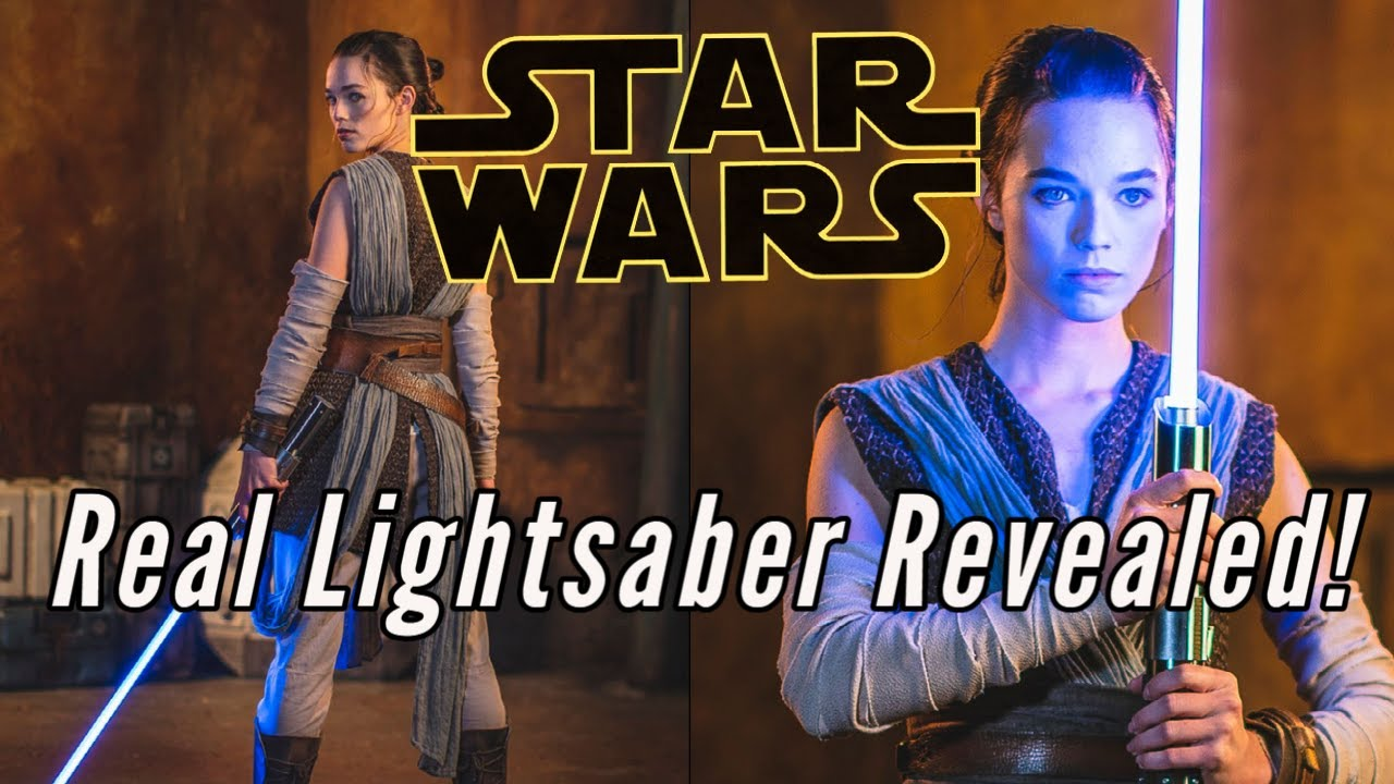 Disney reveals its 'real' lightsaber, and it looks extremely cool