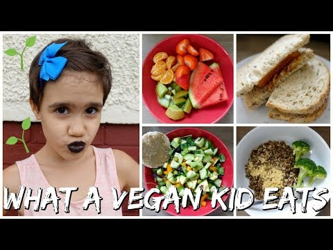 WHAT A 9 YEAR OLD VEGAN KID EATS IN A DAY! ELSIE🌟