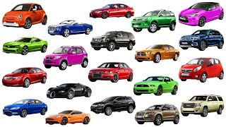 A to G | Brand of Cars Names of Cars Transportation for Kids Street Vehicles Cars & Trucks for kids