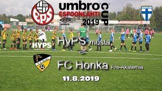 Umbro Espoonlahti Cup 2019 HyPS musta vs FC Honka Pre Akatemia