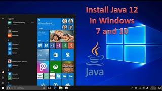 Gambar cover Download and Install Java 12 ( JDK 12 ) or Java 13 ( JDK 13 )  in Windows 7 and 10