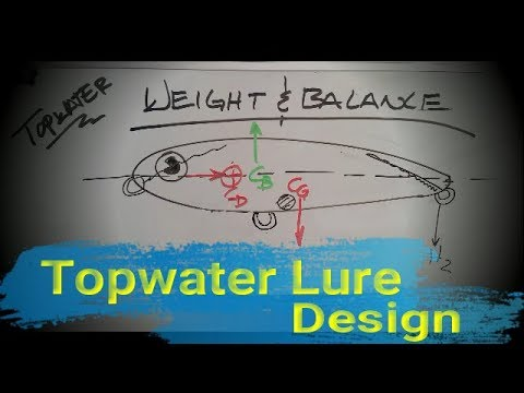 Making Topwater Lures, Weight And Balance