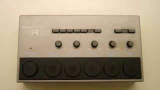 My Ancient Yamaha MR10 Drum Machine