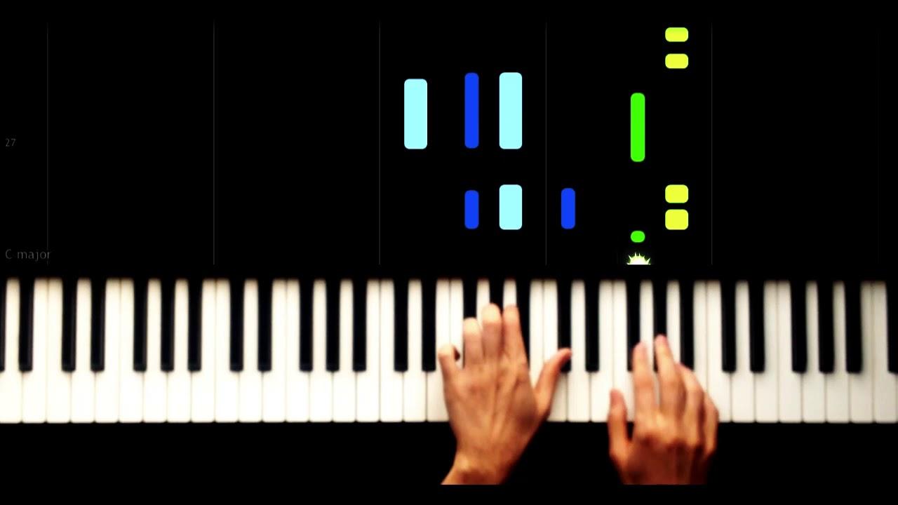 Dance Monkey Slow Easy Piano Tutorial Youtube