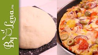 Тесто для пиццы - простой рецепт для лучшей пиццы!
