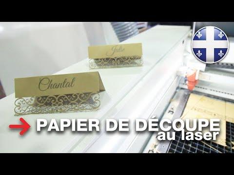 Découpe laser de papier | laser de découpe | Speedy 360