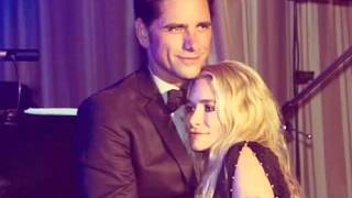 Tribute john stamos and mary kate and Ashley Olson