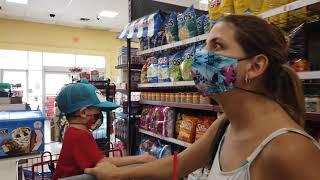 Cómo son los supermercados de barrio en los Estados Unidos.
