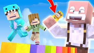 PARKOUR RESCUE SUPER BEBES *adri is lost* 😱 MINECRAFT ROLEPLAY + ROBLOX