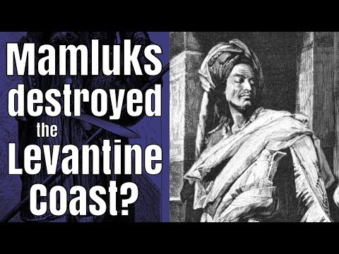 Mamluks beat the Crusaders by destroying the Levant?