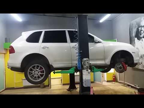 Не нужен тебе брат Porsche Cayenne 4.8 Turbo с активным стабилизатором !!!!!