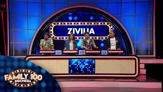 Apakah Zivilia bisa menyusul poin tim Cokelat? - PART 2 - Family 100 Indonesia