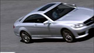 Mercedes-Benz CL 63 AMG Premiere Driving Scenes Test-track