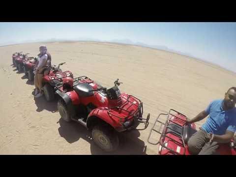 Quad biking safari. Hurghada, Egypt. 16/03/2017