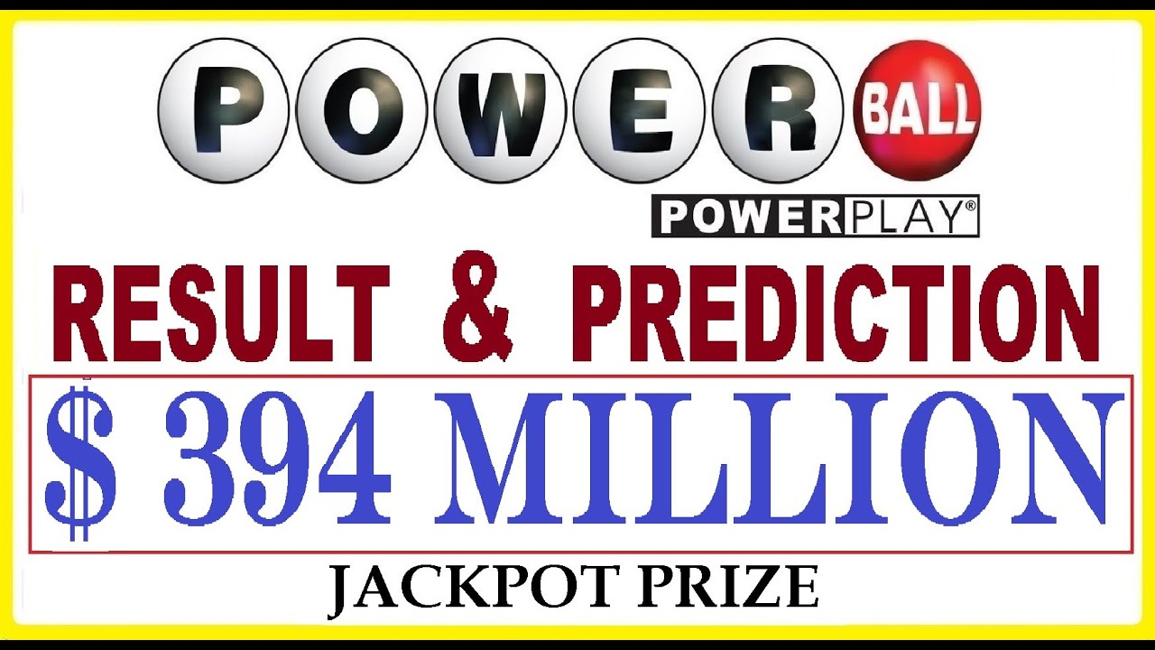 Powerball numbers: One ticket wins Wednesday's $394 million jackpot