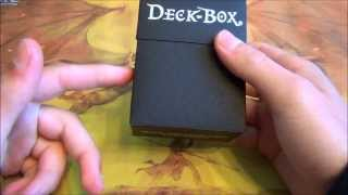 Ultra Pro Plastic Deck Box Review