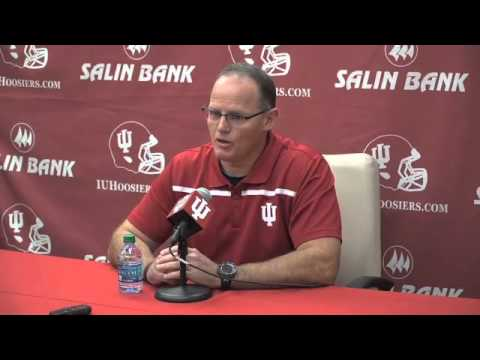 IU Defensive Coordinator Tom Allen Press Conference