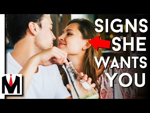 5 SECRET Signs She Actually WANTS You - How To Know She Isn't Leading You On