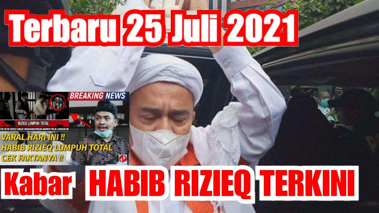 🔴 BUZZERRP GILA! Fitnah IB HRS Lumpuh Total - Ini Kondisi Habib rizieq shihab terkini