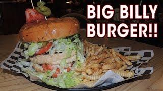 UNDEFEATED BIG BILLY BURGER CHALLENGE!!