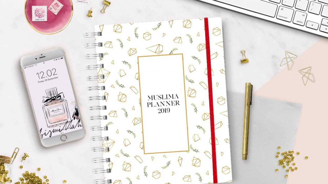 Muslima Planner 2019 By Kecilmamil Youtube