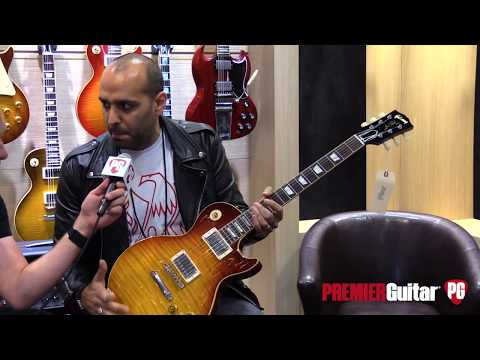 Summer NAMM 2019: Gibson Lee Roy Parnell '59 LP, Dave Amato Les Paul Axcess & '62 Brian Ray SG Jr