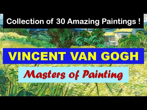 Masters of Painting | Fine Arts | Vincent van Gogh | Art Slideshow 4K | Great Painters