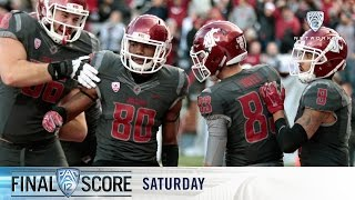 Highlights: Washington State football seals comeback win over ASU