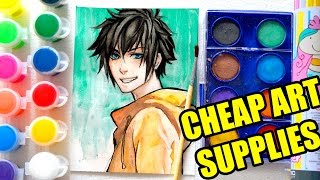 【CHEAP ART SUPPLY CHALLENGE】Less than $5