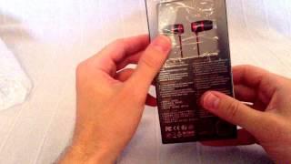 супер наушники SoundMAGIC E10 ( Распаковка)