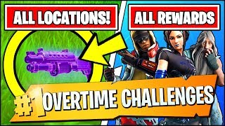 ELIMINATE OTHERS WITH A FRIEND & *ALL* FREE REWARDS (Fortnite OVERTIME Challenges Season 9)