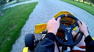 80cc suzuki shifter kart practice