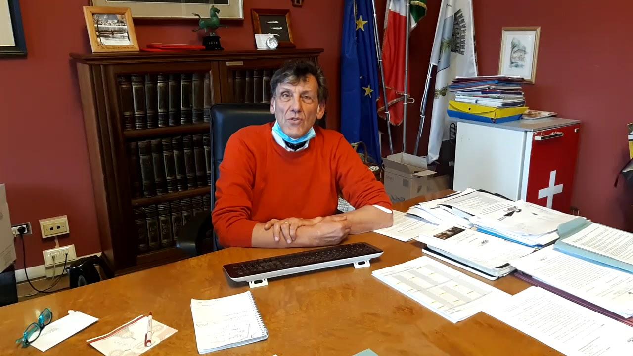Videomessaggio augurale del sindaco di Orta, Giorgio Angeleri
