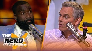 Kendrick Perkins picks best free agent destinations, predicts Raptors will win GM 4 | NBA | THE HERD