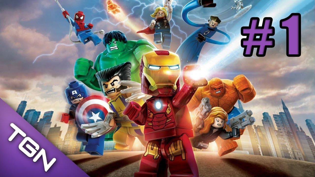Lego Marvel Super Heroes Gameplay Guia En Espanol Capitulo 1 Hd 720p