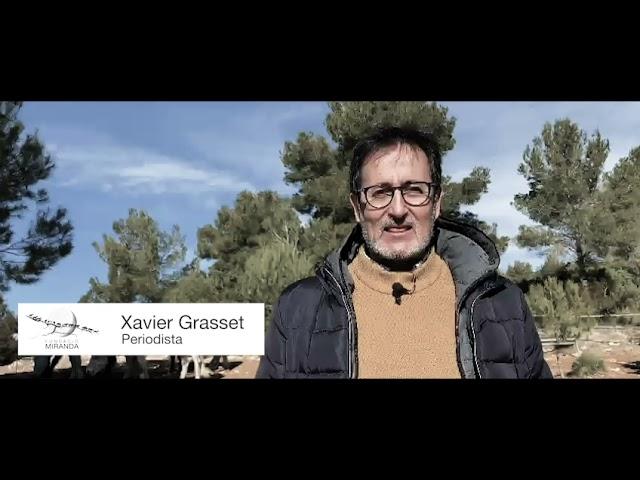 Xavier Grasset dóna suport a la Fundació Miranda!