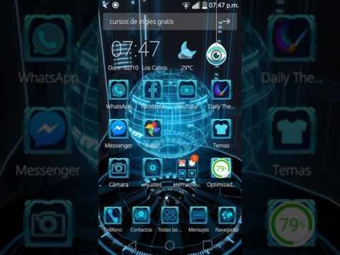 Tema para android en 3D Next Tech